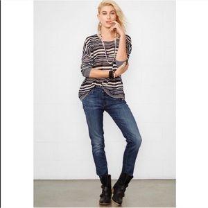 Denim & Supply • Cropped Skinny Jeans in Frey Wash